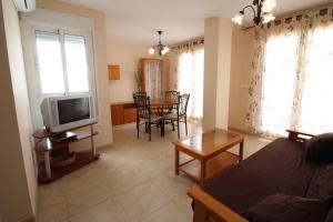Zona de estar de El Balcon Guadalest