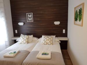 Een bed of bedden in een kamer bij Casa de Campo Cruz de Pedra