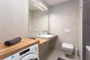 A bathroom at ❤❤❤ Fifty Shades of Gray studio, Ostrava city center ❤❤❤