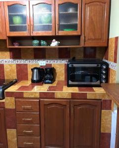 Una cocina o zona de cocina en Andes Zaguan Apartamento