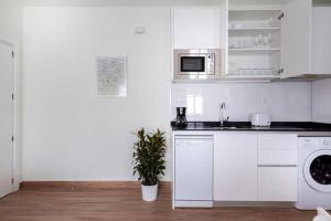 A kitchen or kitchenette at Malasaña Touristic Apartment