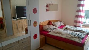 Ein Bett oder Betten in einem Zimmer der Unterkunft Privatwohnung