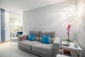 Zona de estar de Ondarreta Beach Apartment