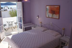 Łóżko lub łóżka w pokoju w obiekcie Mare Monte