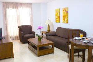 Zona de estar de Hotel Apartamentos Manilva Sun