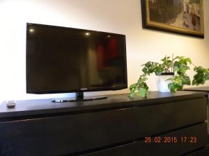 Una televisión o centro de entretenimiento en City Center Apartments
