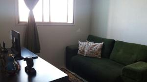 A seating area at Apartamento Inteiro em Campinas