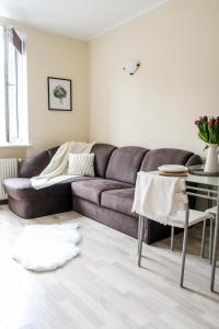 Część wypoczynkowa w obiekcie Apartament Ogarna dla 6 osób w Centrum Starówki