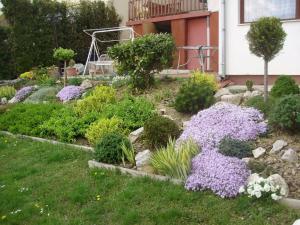 Zahrada ubytování Apartman Berki