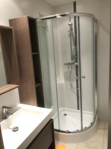 Salle de bains dans l'établissement Zaventem 3