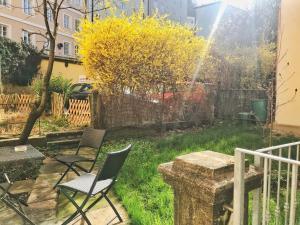 Ein Garten an der Unterkunft Apartment Kurt