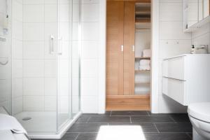 Ein Badezimmer in der Unterkunft Sauerweingut