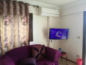 TV/Unterhaltungsangebot in der Unterkunft Apartment Sedi Beshr