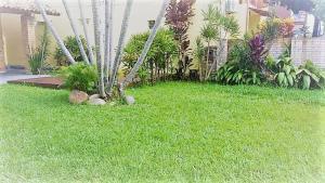 Jardín al aire libre en Casa inteira Canasvieiras