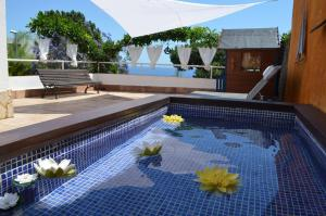 The swimming pool at or near Villa Jordana One Step To The Beach
