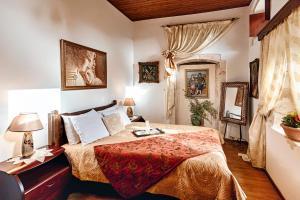Ένα ή περισσότερα κρεβάτια σε δωμάτιο στο Hamam Suites Sifaka