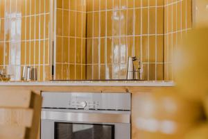 A kitchen or kitchenette at Moll Petit - Turismo de Interior
