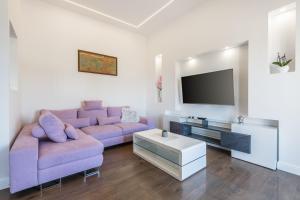 TV a/nebo společenská místnost v ubytování Apartment 4you