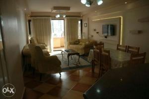 Area soggiorno di Clara appartament