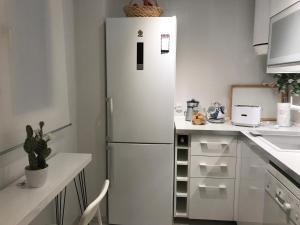 A kitchen or kitchenette at Pasaje al Pilar