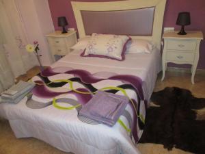 Cama o camas de una habitación en Casa Pipo Y Ceci