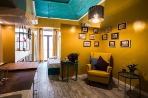 Zona de estar de Y.Baixa - Boutique Apartments