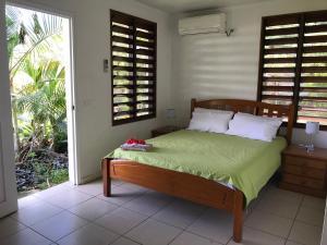Uma cama ou camas num quarto em Marine Cup