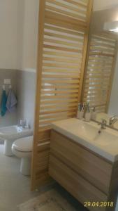 חדר רחצה ב-Condominio Le palme