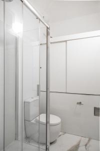 Ein Badezimmer in der Unterkunft Lazenska N°4