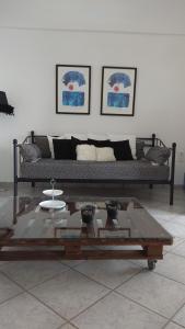 A seating area at Nostalgia Villas