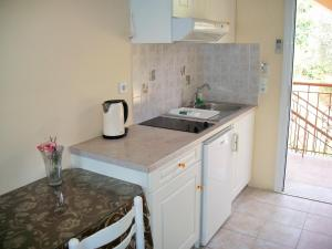 A kitchen or kitchenette at Diona Studios