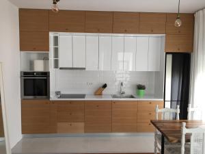 Una cocina o zona de cocina en Soho Luxury Apartment