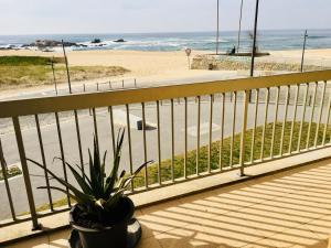A balcony or terrace at Agudela Vista Mar