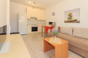 Kuchyň nebo kuchyňský kout v ubytování Apartments Tomislav II