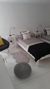 Postelja oz. postelje v sobi nastanitve Casa Angiolina