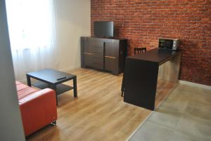 A television and/or entertainment center at Sweet Dream Sienkiewicza