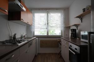 A kitchen or kitchenette at Äußere Laufer Gasse