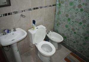 Un baño de Departamento Mendoza Ayacucho