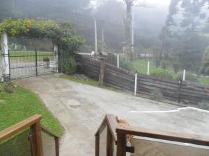 A balcony or terrace at Hospedaria Paradouro Caracol