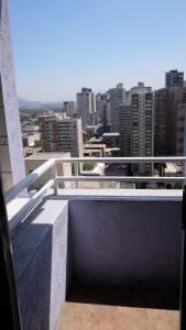 Un balcón o terraza de Santiago Wine Rent Apartments