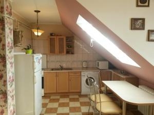 A kitchen or kitchenette at Leonard Apartment
