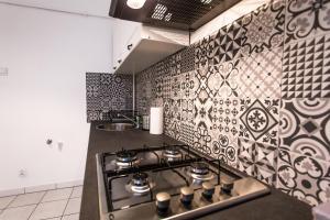 Virtuvė arba virtuvėlė apgyvendinimo įstaigoje Vistula Apartments