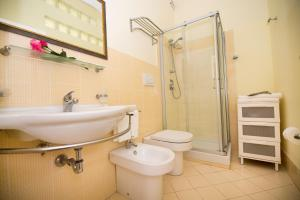 A bathroom at Residence Noto Nobilis