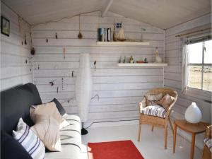 A seating area at Two-Bedroom Holiday Home in Fjalkinge