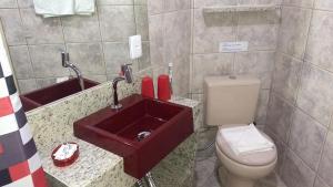 A bathroom at Flats Koala