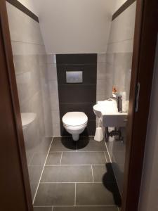 A bathroom at Sarah´s Klein aber fein
