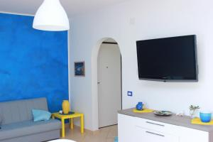 A television and/or entertainment center at Baia di Copanello