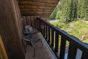 A balcony or terrace at Apartment House Kongen