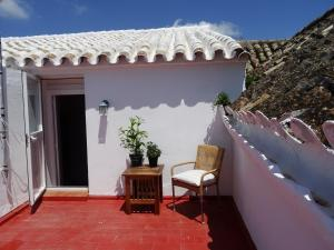 A balcony or terrace at Apartamentos La Loba