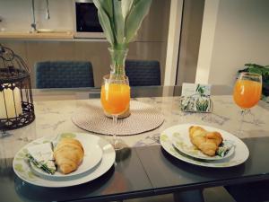 Možnosti snídaně pro hosty v ubytování Apartman Karlo Antonio